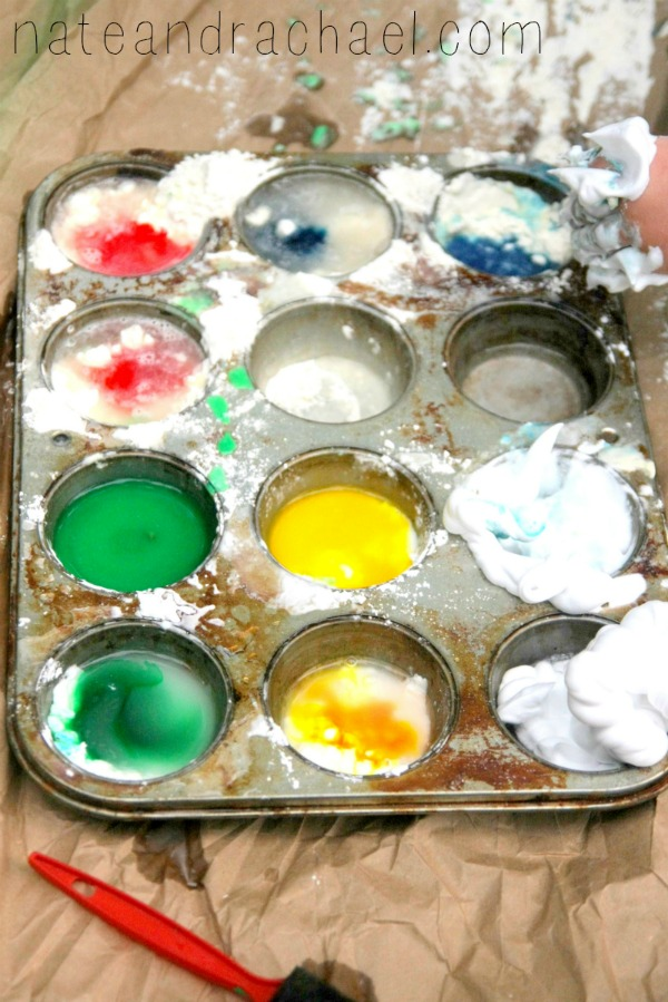 11 super simple homemade paint recipes. 3 ingredients or less!