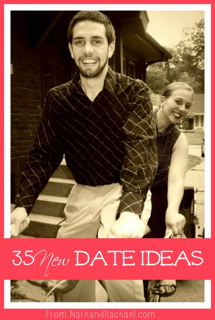 35 NEW date ideas! So many fun things to try!