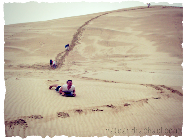 Boogy boarding on Sand Dunes! Read post for details on what it is and where you can do it.