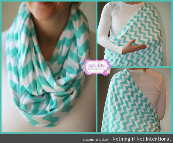 Brilliant! Nursing scarf.