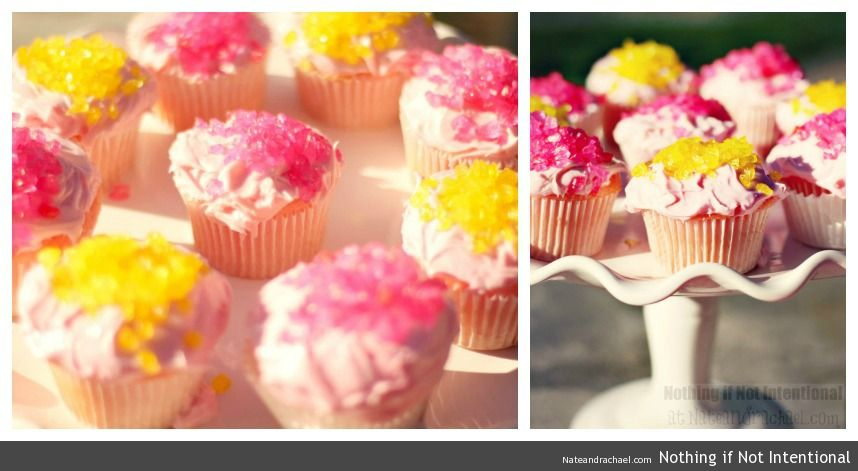 Pink Lemonade and Pinwheels Birthday Party—I LOVE the rock candy sprinkles!!