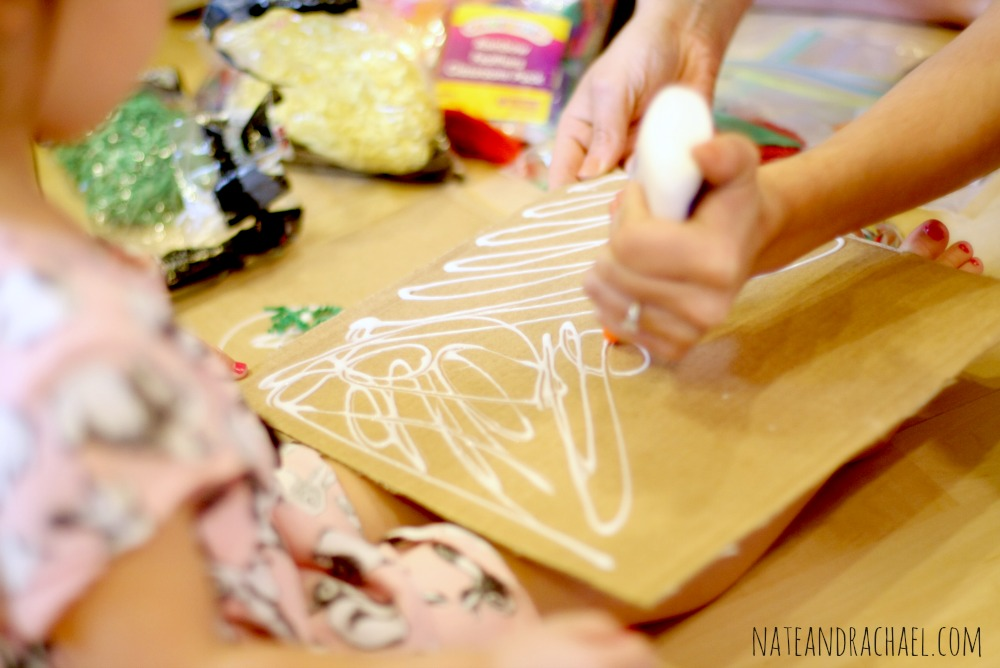 Craft ideas for kids--exploring texture