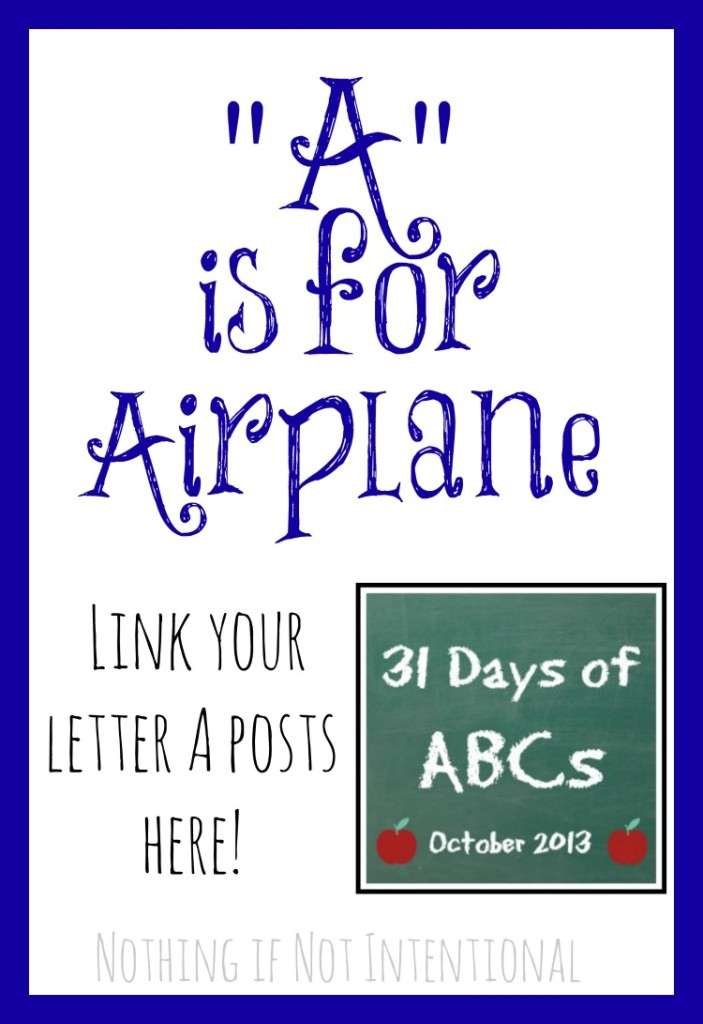 Link your letter A posts!