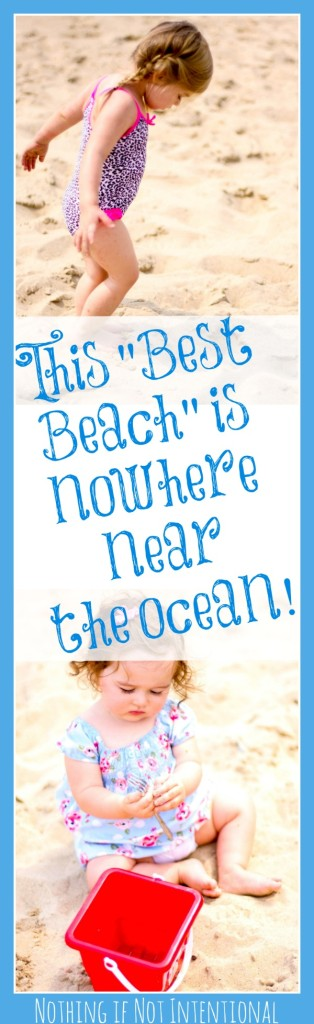 """This """"best beach"""" is nowhere near the ocean! Indiana Dunes State Park with kids and families."""
