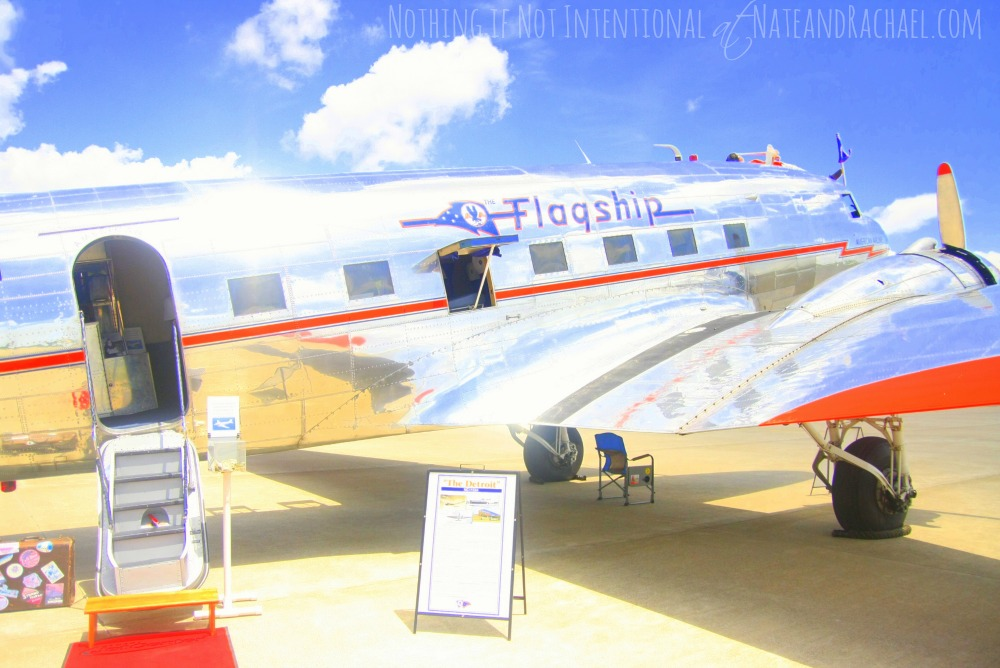 Flagship Detroit DC-3 (Used in pictures for airplane birthday party)