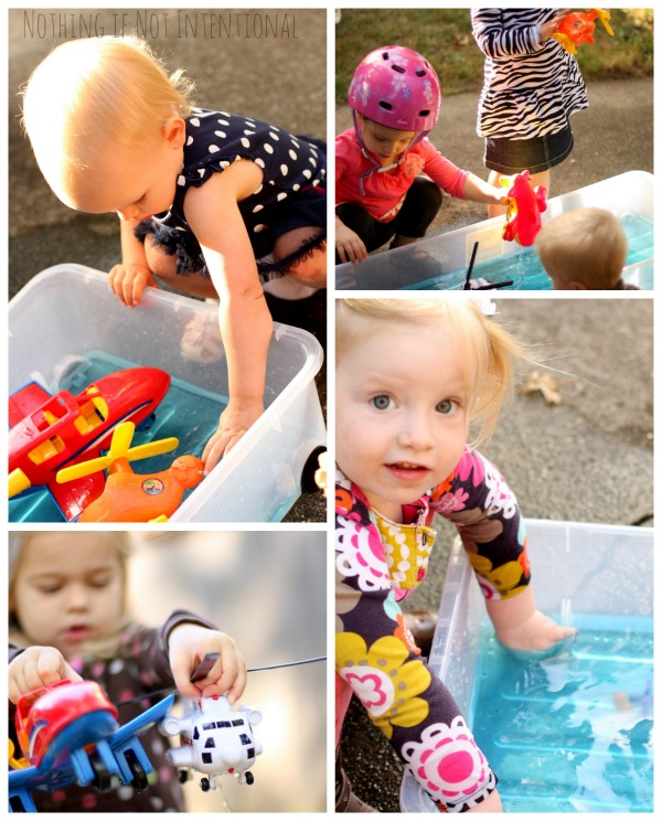 Airplane Play: Airplane Sensory Bin, Personalized Coloring Sheet, and Frozen Fizzing Airplane Fun!