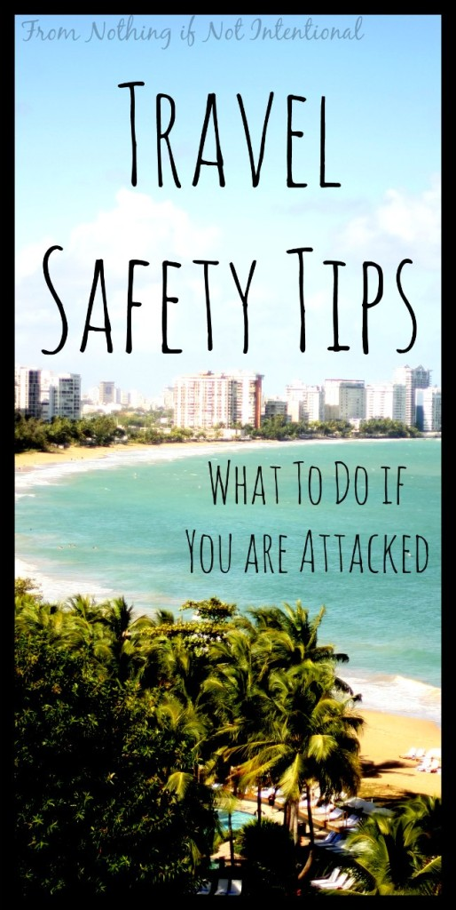 What to do if you're attacked.