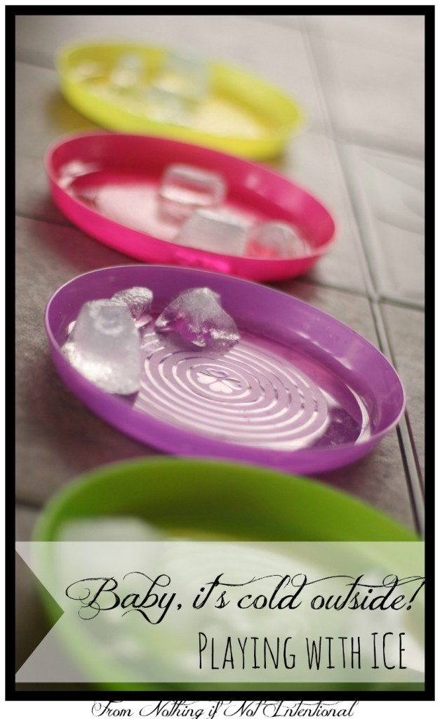 Brrr! Make the most of the cold winter days with these simple and fun ice experiments.