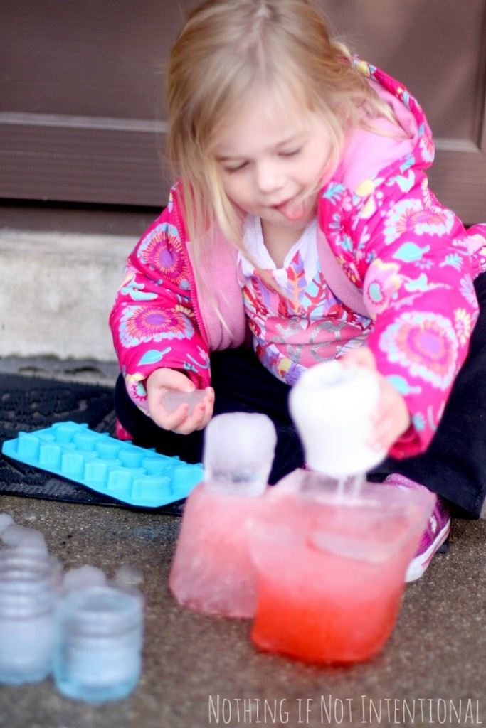 Save sand castles for summer! This winter, make an ice castle.