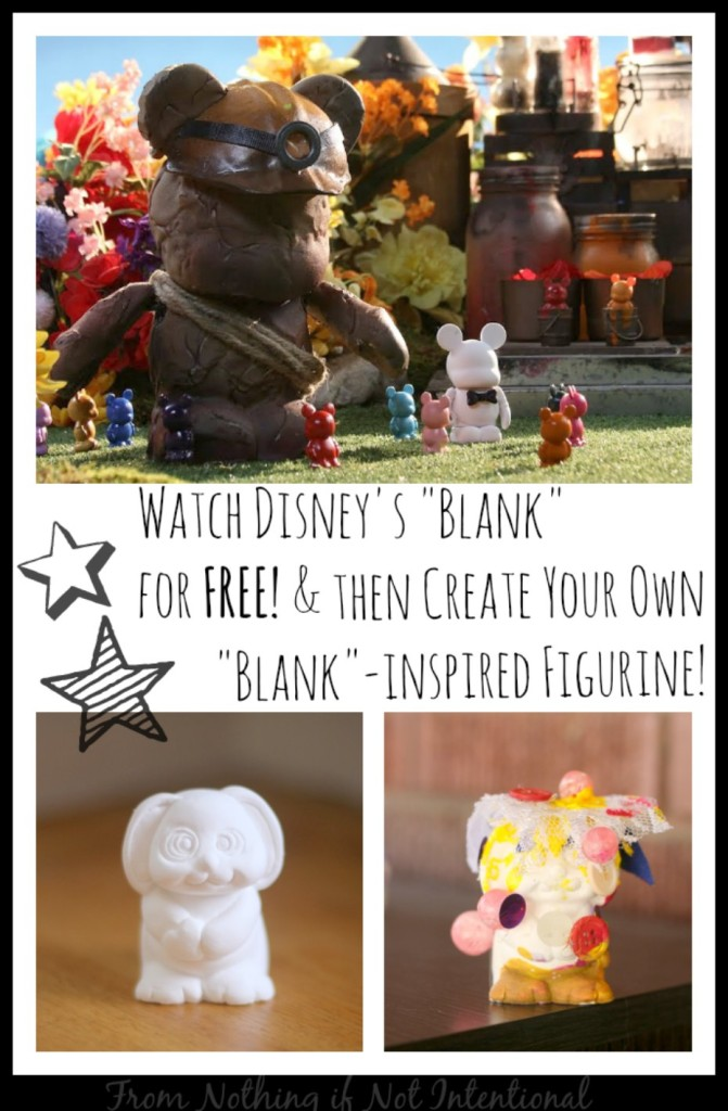 Watch Disney's Blank for FREE and Create Your Own Blank-Inspired Figurine!
