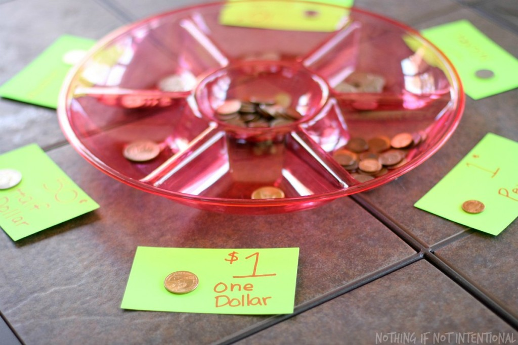 Fun with money and math! Math money games for preschoolers