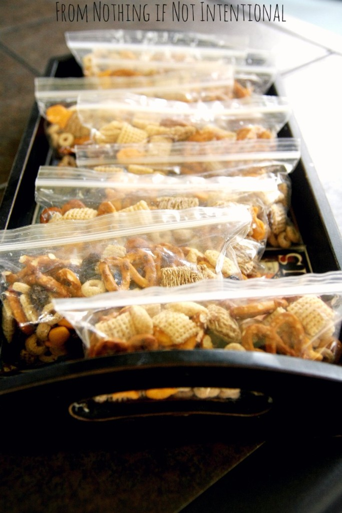 Kid-Friendly Chex Mix--Perfect for Travel, Walks, and Play Dates!