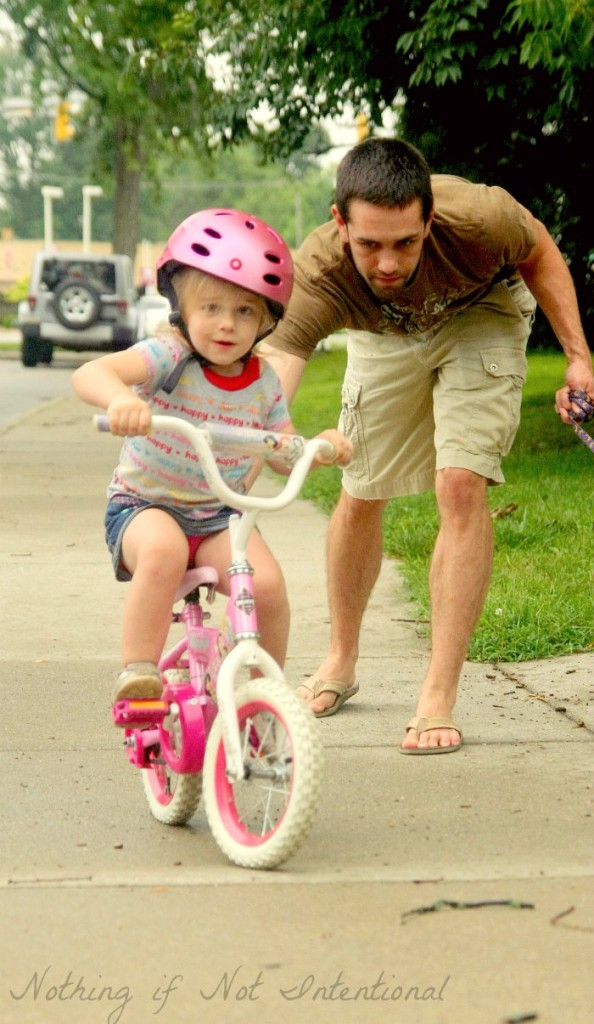 The easiest way to teach your child how to ride a bike!