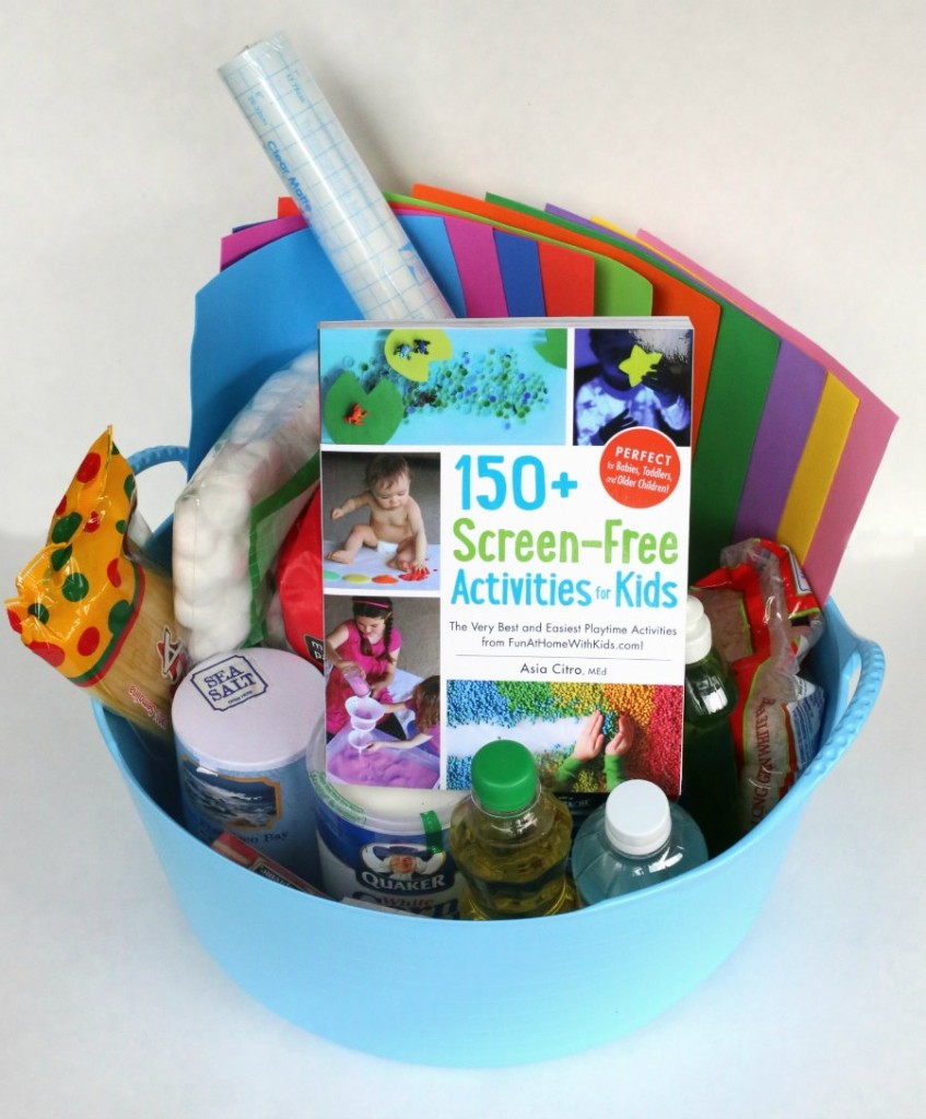 Review of 150+ Screen-Free Activities for Kids by Asia Citro