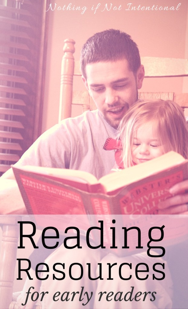 Reading Resources for Early Readers