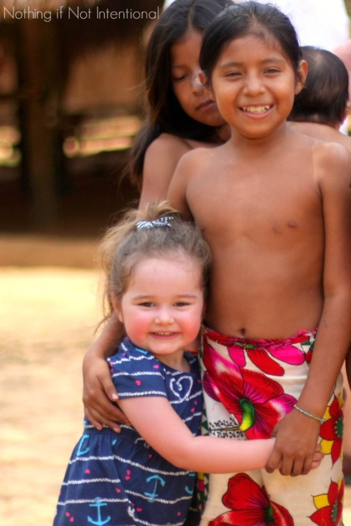 Visiting an Embera Indian Village in Panama