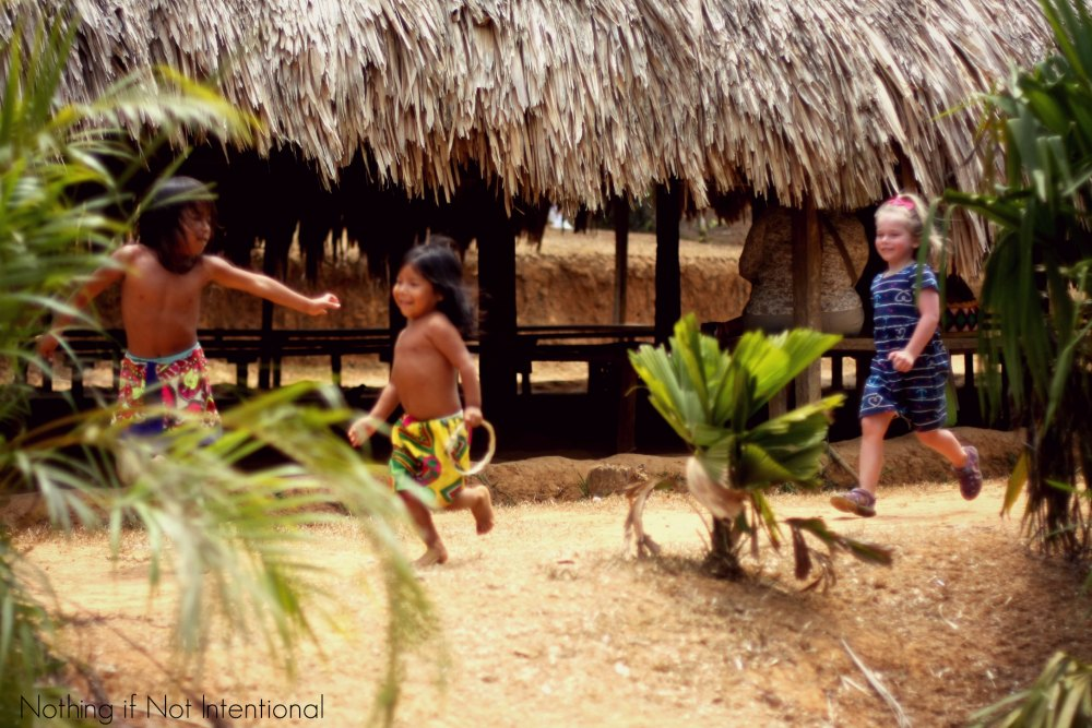 Things to do in Panama-- Visit an Embera Indian Village