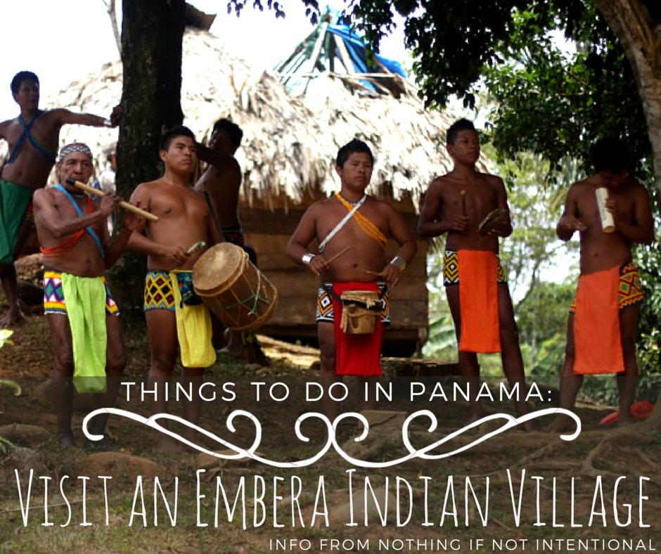 Cruise to the Panama Canal and Visit an Embera Indian Village!