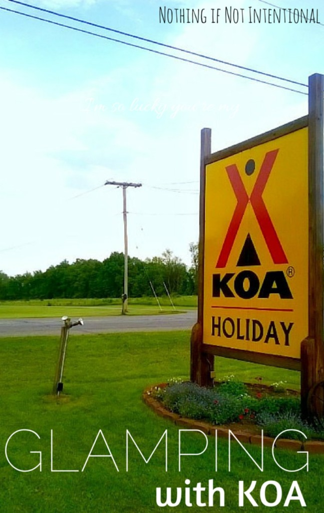 What's it like to glamp at a KOA?
