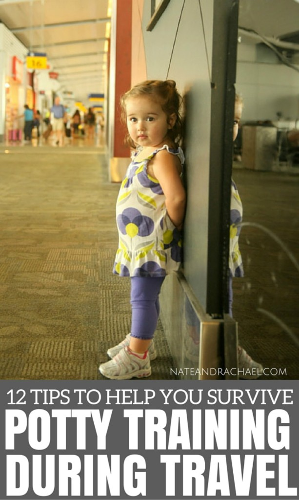 12 Tips to help with potty training during travel
