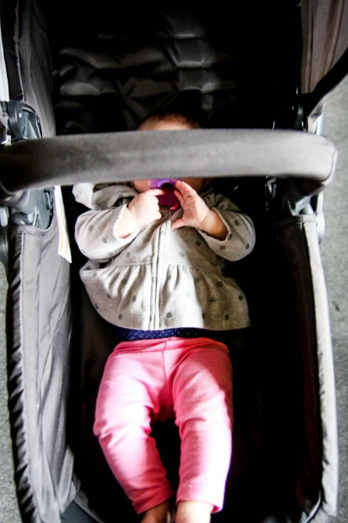 Infant car seat, reversible stroller, and pram in one! GB Lyfe Pram Travel System